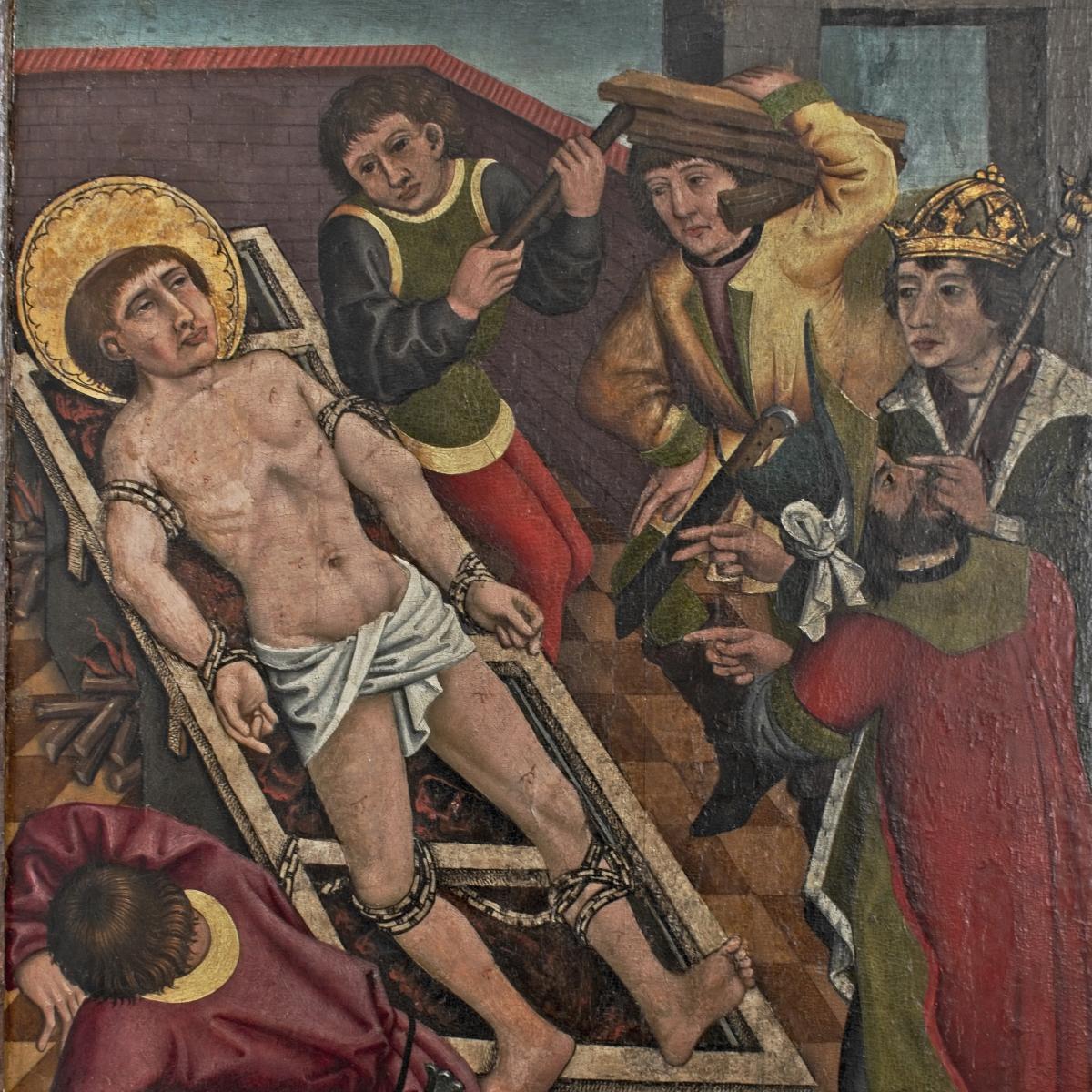 Der Heilige Laurentius und die Leiden der Wonseeser