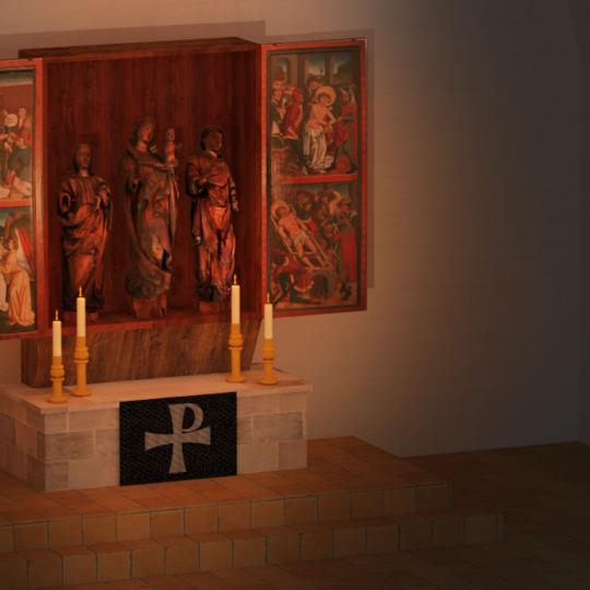 Der mittelalterliche Flügelaltar – vom verehrten Heiligtum zum verachteten Sperrmüll