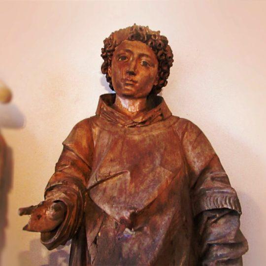 Laurentius, sag, was ist ein Heiliger?